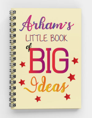 Little Book of Big Ideas-Spiral Notebook