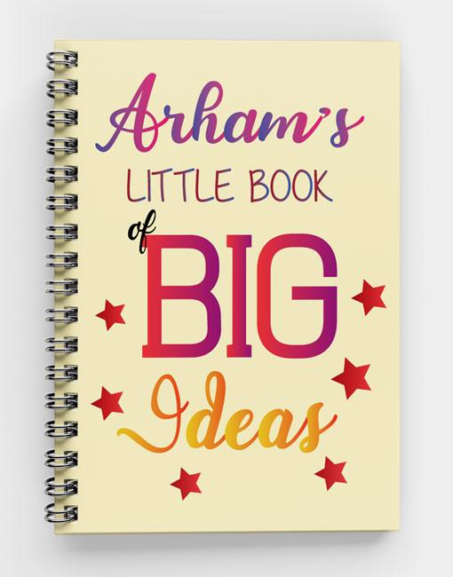 Little Book of Big Ideas-Spiral Notebook