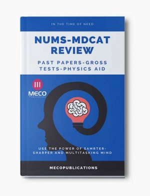 Nums Past Papers and Review tests Book-Nums Mdcat 2020-Meco Publications